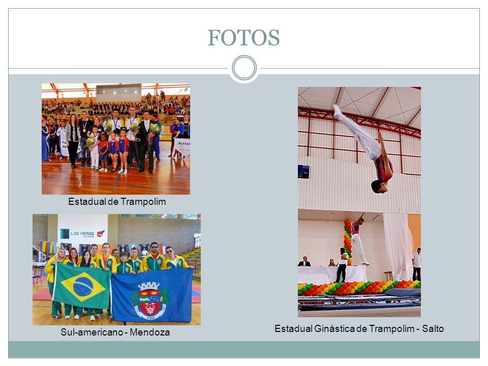 FOTOS Estadual de Trampolim Sul-americano - Mendoza Estadual Ginástica de Trampolim - Salto