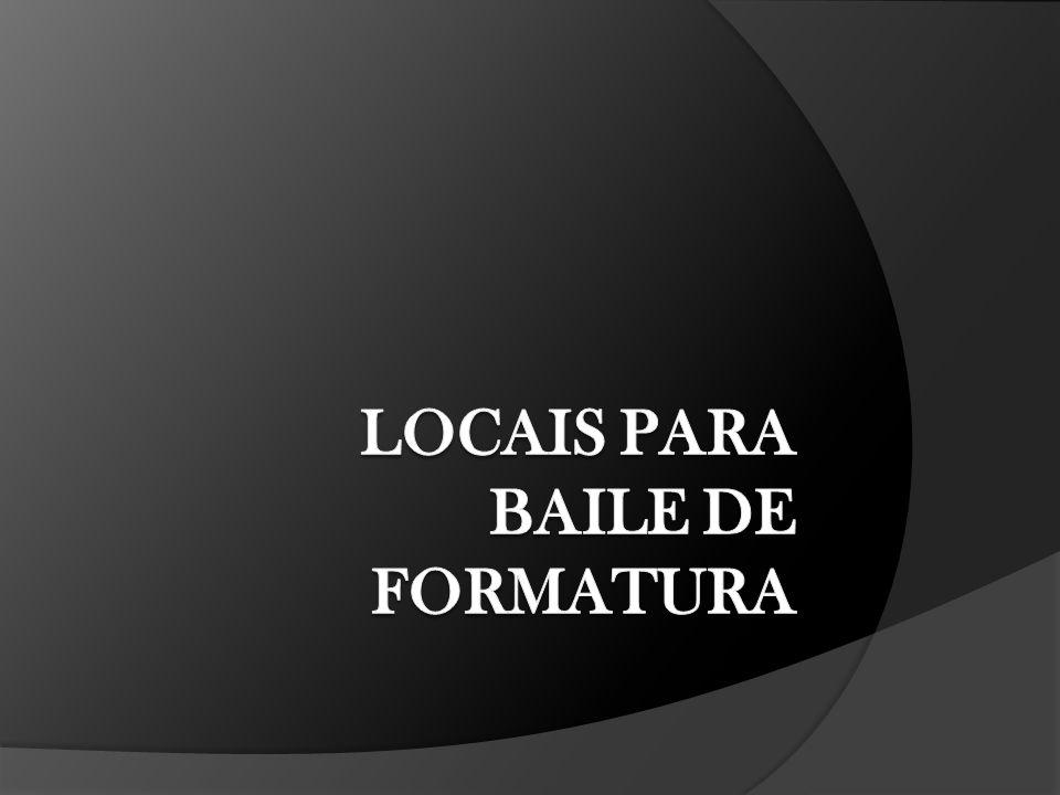 Locais – 4 opções Palácio Wawel (22 convidados/pessoa) Espaço Torres (21 convidados/pessoa) Paraná Clube (37 convidados/pessoa) FIEP (45 convidados/pessoa) * Pode haver reajuste no número de convidados de acordo com a disposição das mesas.