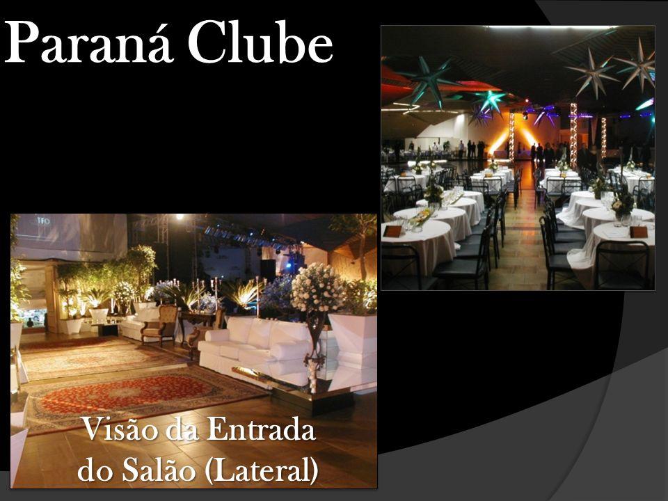 Visão do Hall de Entrada Paraná Clube