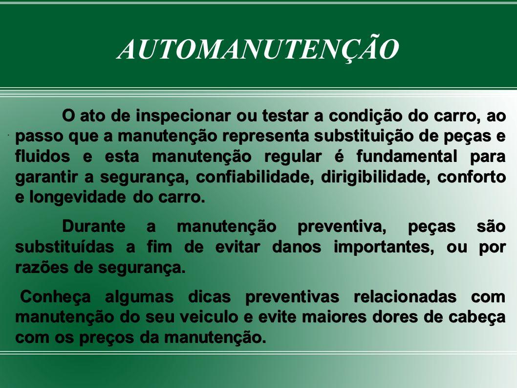 -PNEUS E RODAS- Pneus e rodas são equipamentos básicos de segurança.