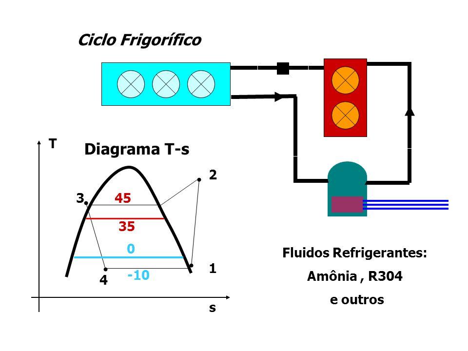 Diagrama de Blocos do Sistema + - - + TRTR TCTC E ControleControle Compressor e Circuito Frigorífico Distúrbio Térmico do Ambiente T AMB Câmara e Produto Q EVAP Q AMB InversorInversor Sinal Erro : E = T