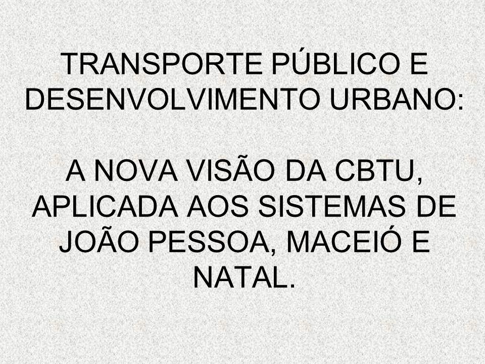 OUTRAS AÇÕES CONVERGENTES: Planos Diretores Metropolitanos e Municipais de Transporte.