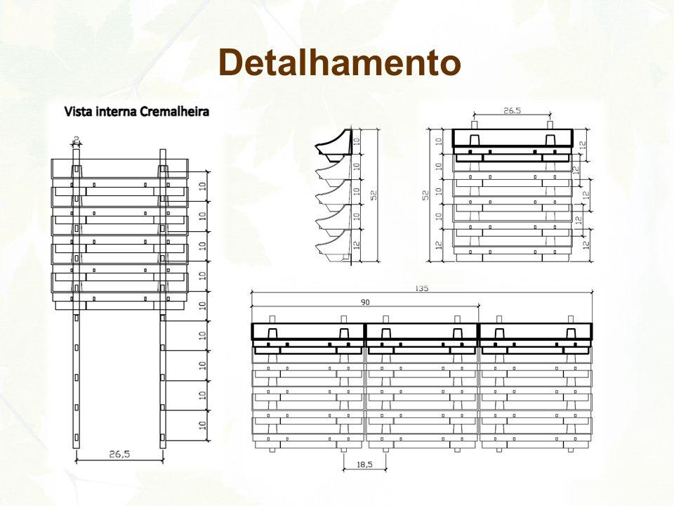c.Colocação dos Módulos Jardim de Parede Canguru® encaixando-os no suporte das cremalheiras.