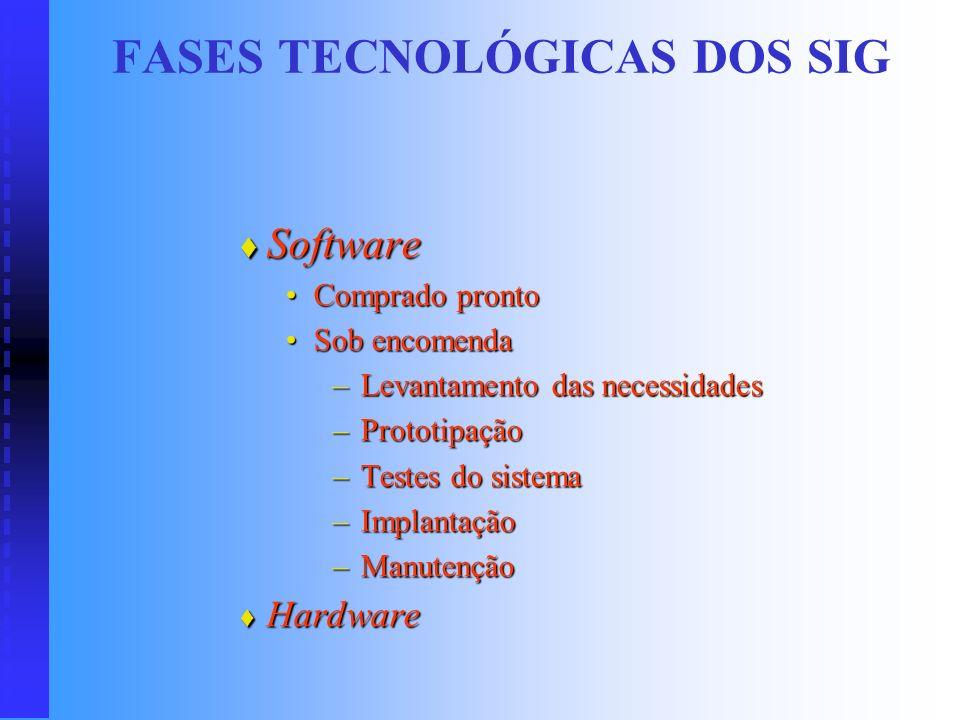 FASES TECNOLÓGICAS DOS SIG Era da Globalização (Tecnologia da Informação) Era da Globalização (Tecnologia da Informação) A TI deve estar de acordo com