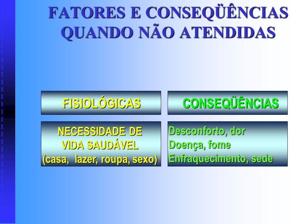 MOTIVAÇÃO AUTO REALIZAÇÃO FISIOLÓGICA ESTIMA ESTIMA ACEITAÇÃO SEGURANÇA COLABORADORES DA ADMINISTRAÇÃO CIENTIFICA