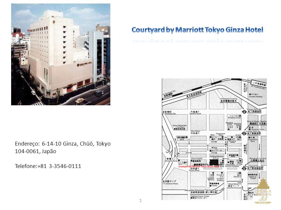 Endereço: 6-14-10 Ginza, Chūō, Tokyo 104-0061, Japão Telefone:+81 3-3546-0111 1