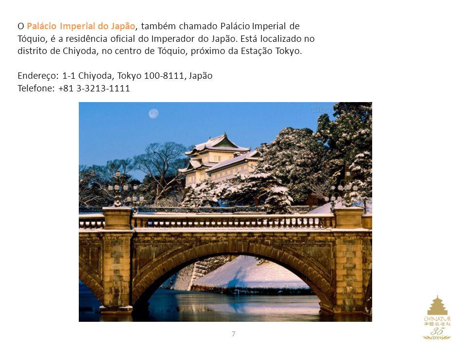 O Palácio Imperial do Japão, também chamado Palácio Imperial de Tóquio, é a residência oficial do Imperador do Japão.