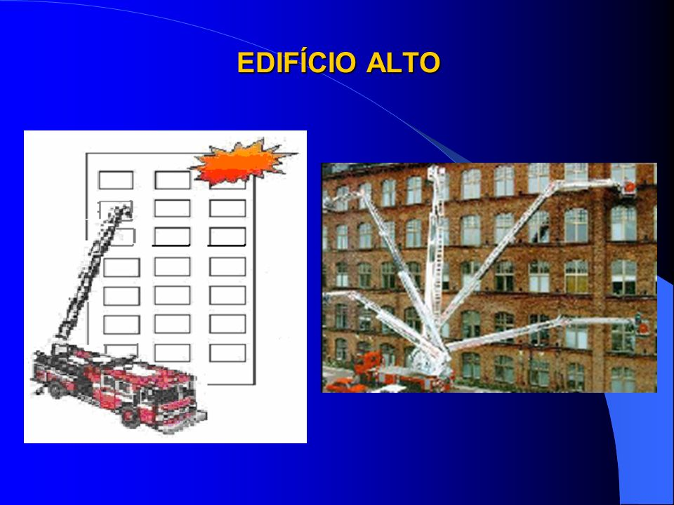 Edificação que, em altura, ultrapassa o alcance do maior equipamento (auto-escada e autoplataforma elevada) existente no Corpo de Bombeiros da localid