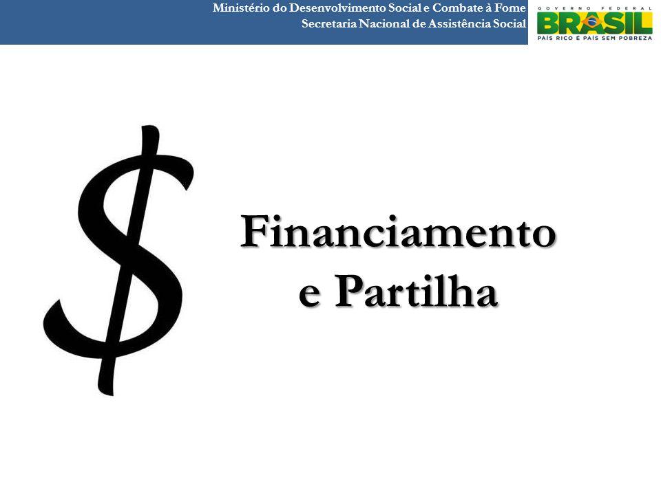 Ministério do Desenvolvimento Social e Combate à Fome Secretaria Nacional de Assistência Social Financiamento e Partilha
