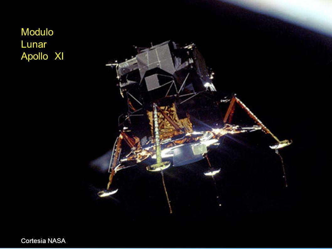 Aula01.a.28 Modulo Lunar Apollo XI Cortesia NASA CE-229 - Profs. Vieira Dias, Cunha e Lineu (c)