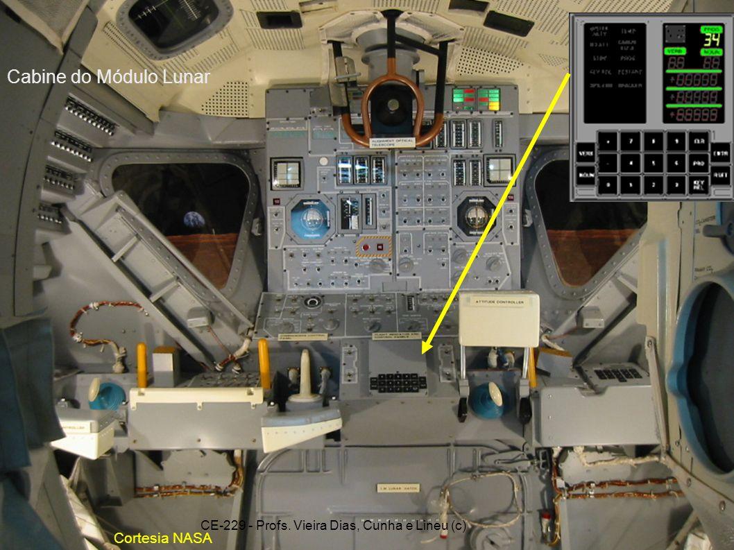 9.2.29 Cortesia NASA Cabine do Módulo Lunar CE-229 - Profs. Vieira Dias, Cunha e Lineu (c)