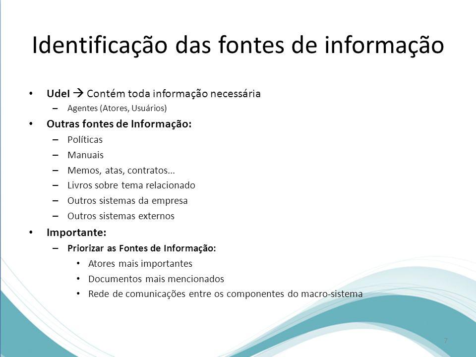Documento de requisitos Como resultado do processo de engenharia de requisitos é desenvolvido o documento de requisitos do software.
