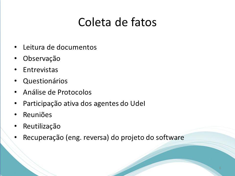 Cada requisito deve ter um identificador único, por exemplo, um identificador numérico, para posterior referência Os requisitos do software devem estar divididos em requisitos funcionais e não funcionais.