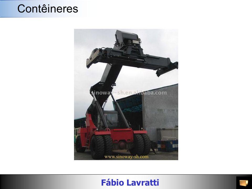 Fábio Lavratti Movimentação de materiais AlturaMaterial Peso Bruto (kg/lbs) Carga Máxima (kg/lbs) PortaDimensões Interiores Cubagem Interior (m³/cft) Largura (mm/ft) Altura (mm/ft) Compri mento (mm/ft) Largura (mm/ft) Altura (mm/ft) 40 HC Dry 9 -6 Alumínio 3,010 / 6,6336 27,470 / 60,561 2,343 / 7 8 2,589 / 8 8 12,060 39 7 2,340 / 7 8 2,679 / 8 9 75.6 / 2,669 9 -6 Aço 3,990 / 8,796 26,490 / 58,400 2,340 / 7 8 2,585 / 8 6 12,035 39 6 2,350 / 7 9 2,696 / 8 10 76.3 / 2,693