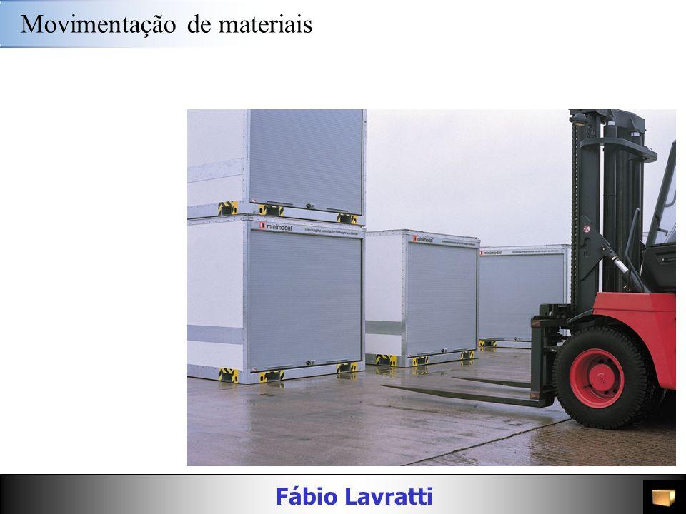 Fábio Lavratti Movimentação de materiais