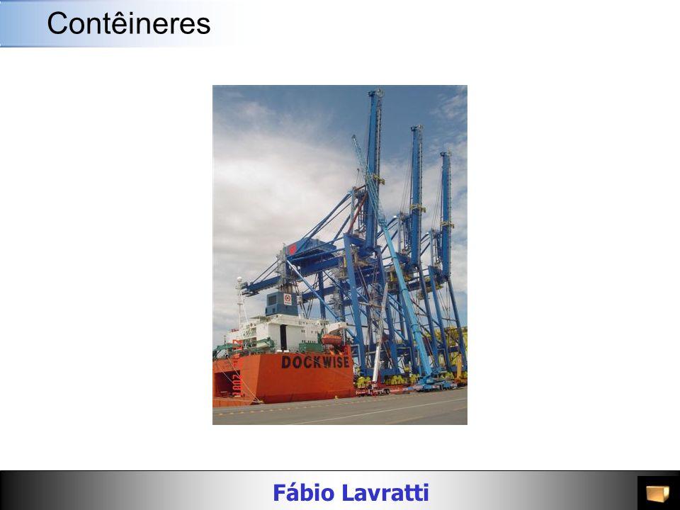 Fábio Lavratti Movimentação de materiais CONTAINER PARA GRANÉIS Possui bolsa para movimentação com carga e três acessos pelo topo.