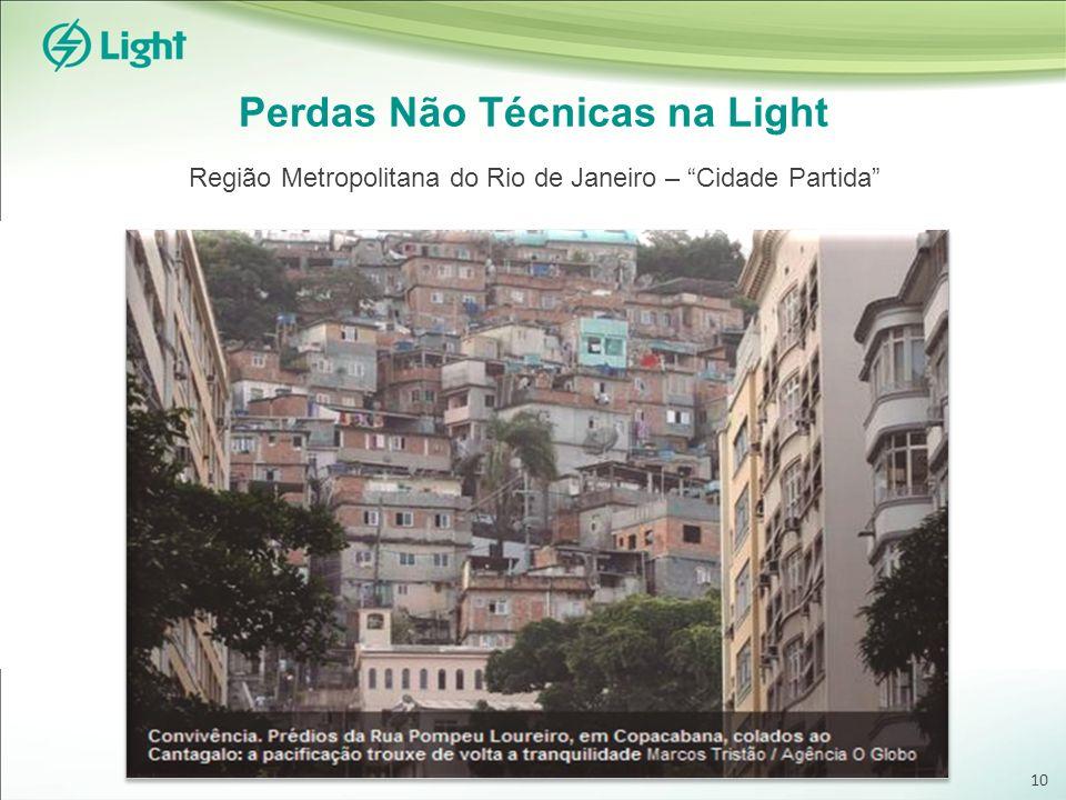 Perdas Não Técnicas na Light Região Metropolitana do Rio de Janeiro – Cidade Partida 10