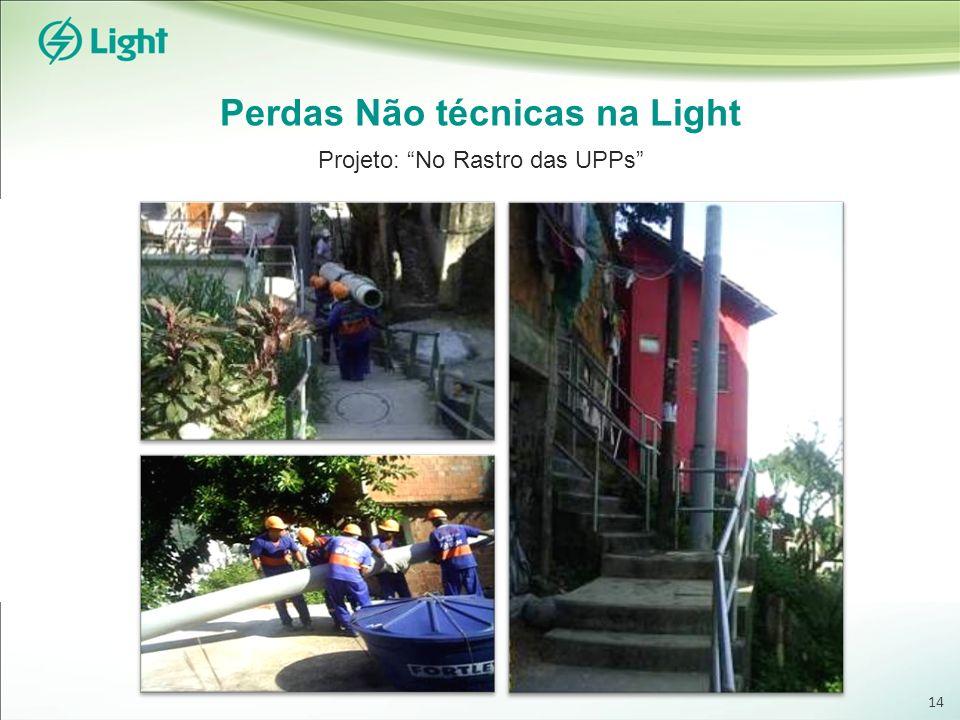 Perdas Não técnicas na Light Projeto: No Rastro das UPPs 14
