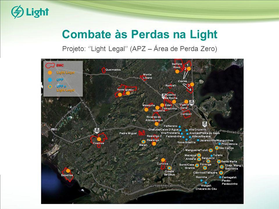 Combate às Perdas na Light Projeto: Light Legal (APZ – Área de Perda Zero)