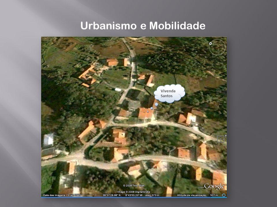 Urbanismo e Mobilidade Vivenda Santos
