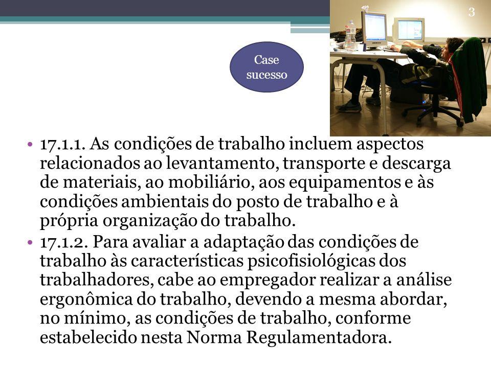 3.EQUIPAMENTOS DOS POSTOS DE TRABALHO 3.1.