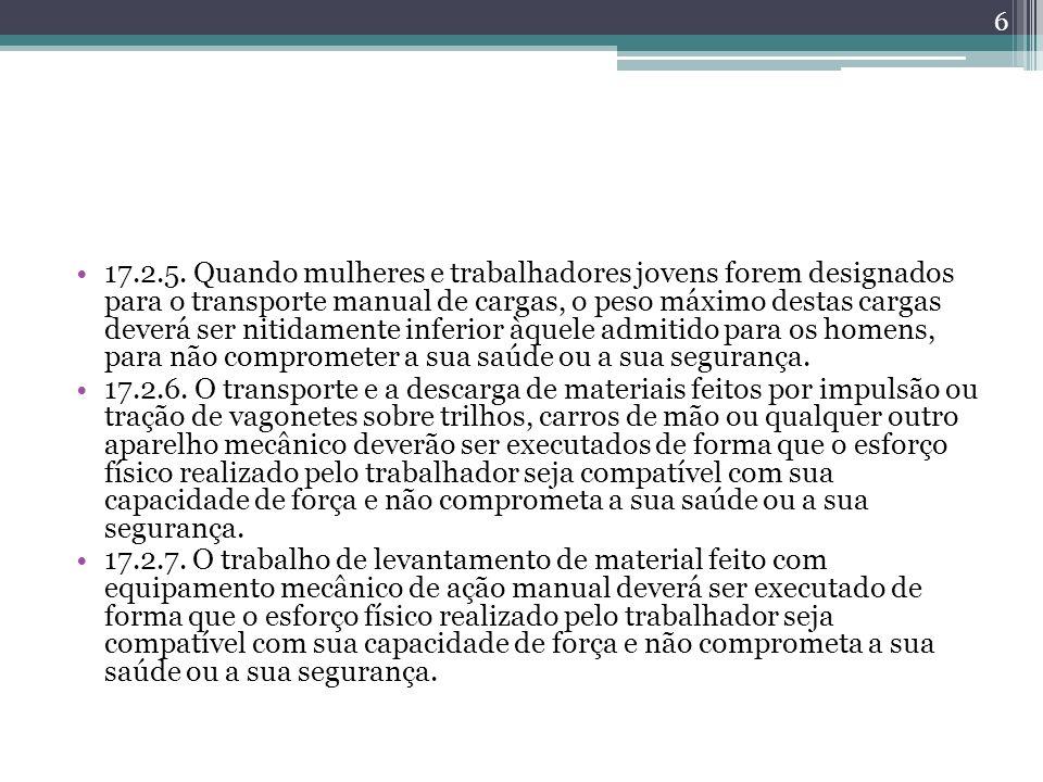4.CONDIÇÕES AMBIENTAIS DE TRABALHO 4.1.
