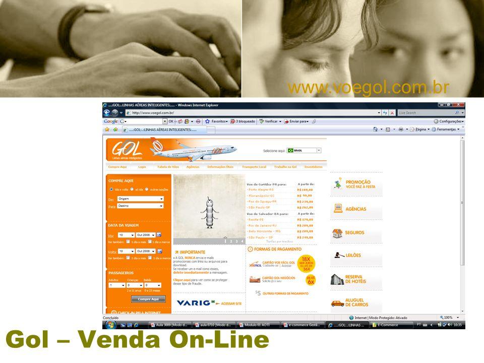 Gol – Venda On-Line www.voegol.com.br