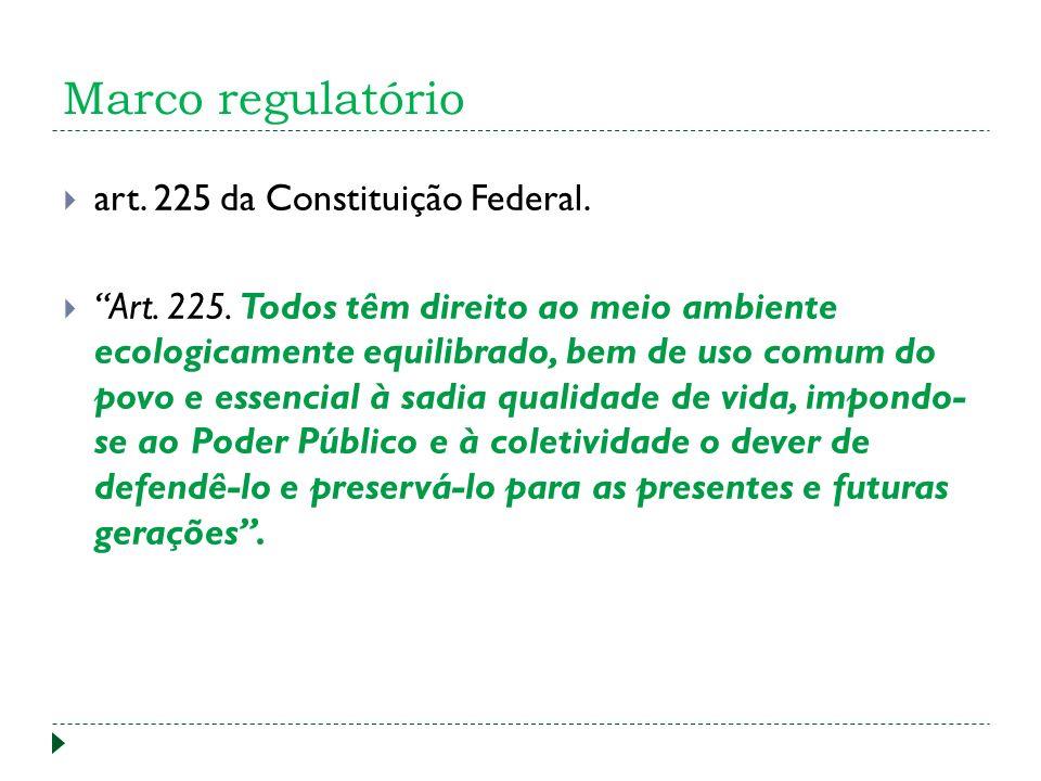 art.225 da Constituição Federal. Art. 225.