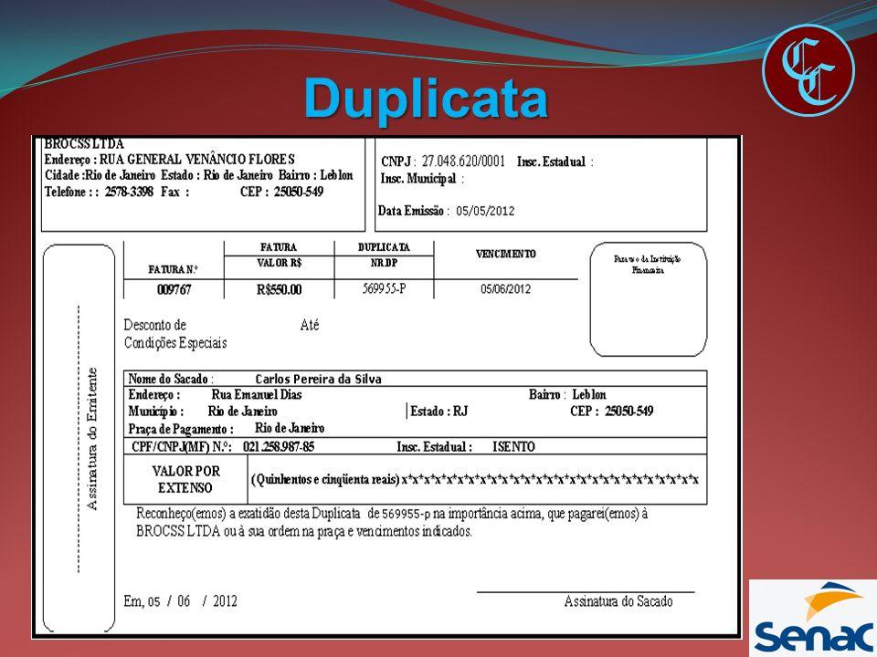 Duplicata C C