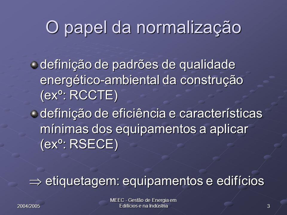 242004/2005 MEEC - Gestão de Energia em Edifícios e na Indústria RCCTE - nec.