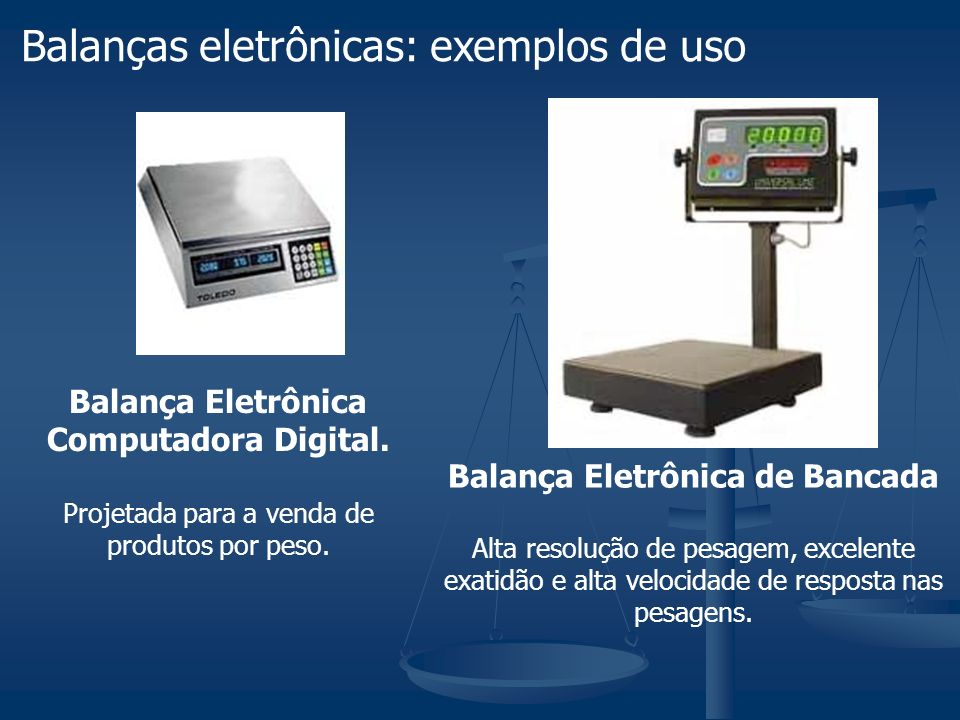 Balança Eletrônica Computadora Digital. Projetada para a venda de produtos por peso. Balança Eletrônica de Bancada Alta resolução de pesagem, excelent