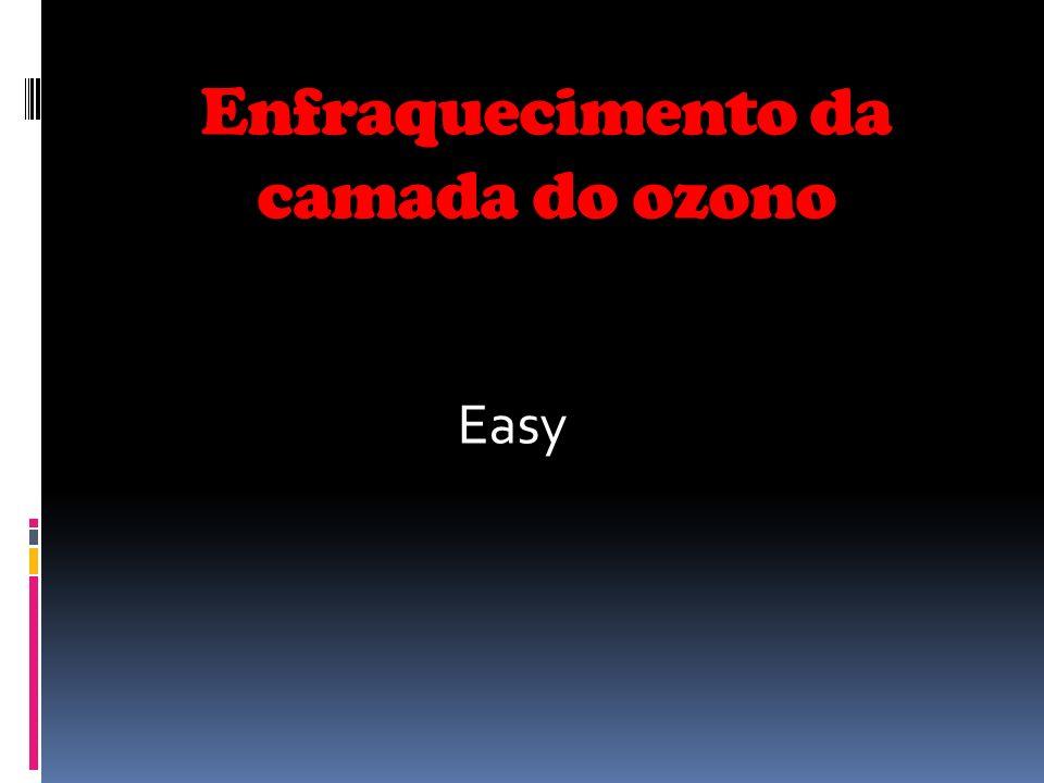 Enfraquecimento da camada do ozono Easy