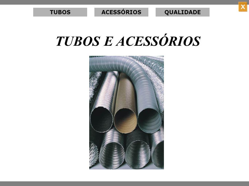X TUBOS TÉRMICOS Menu Tubos Térmicos Protetor térmico tubular para tubos frios.