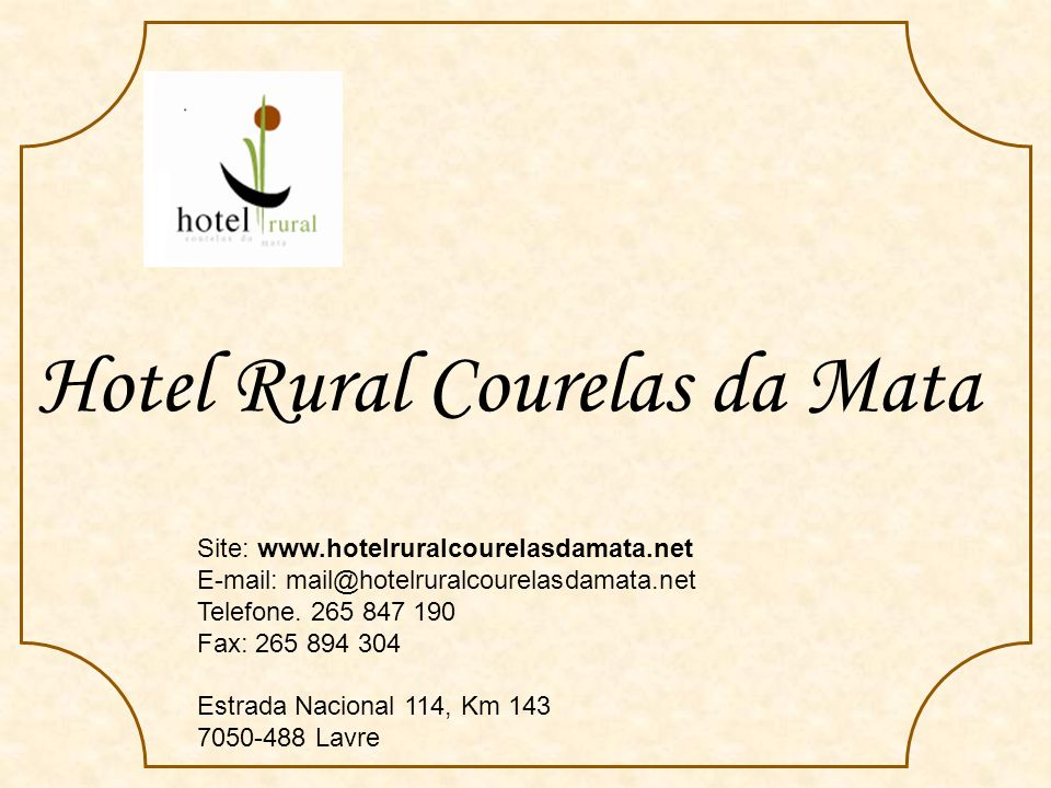 Hotel Rural Courelas da Mata