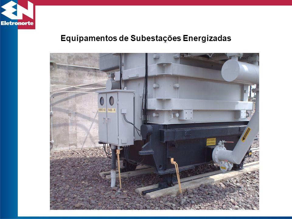 Equipamentos de Subestações Energizadas