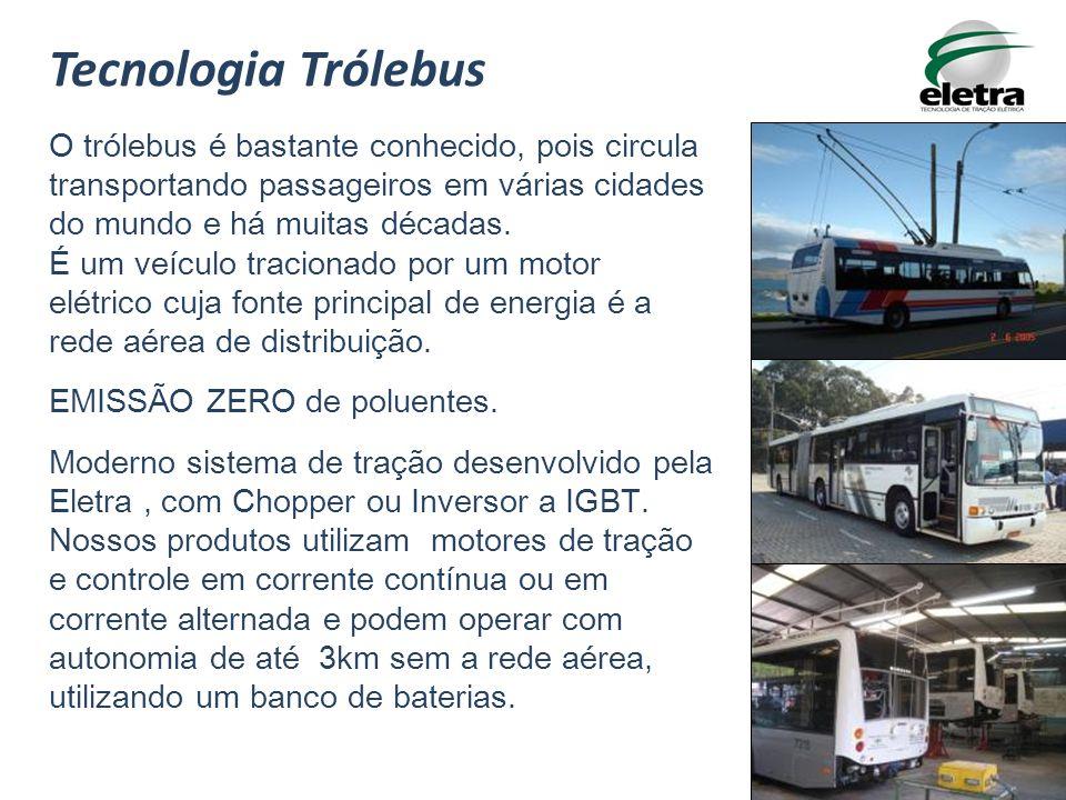 O trólebus é bastante conhecido, pois circula transportando passageiros em várias cidades do mundo e há muitas décadas. É um veículo tracionado por um