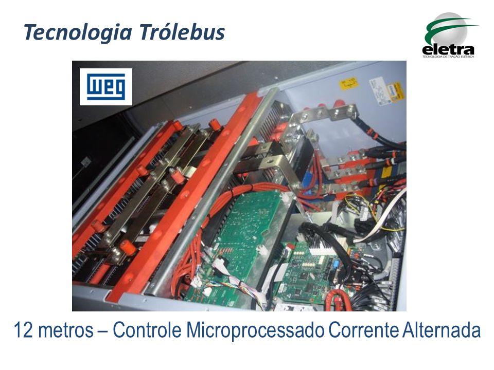 Tecnologia Trólebus 12 metros – Controle Microprocessado Corrente Alternada