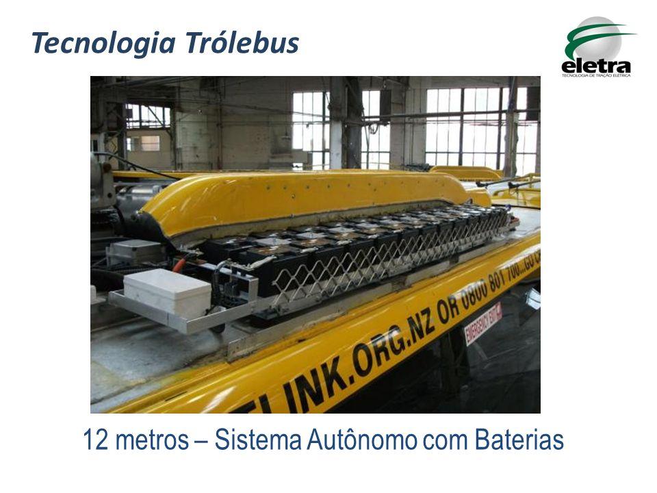 Tecnologia Trólebus 12 metros – Sistema Autônomo com Baterias