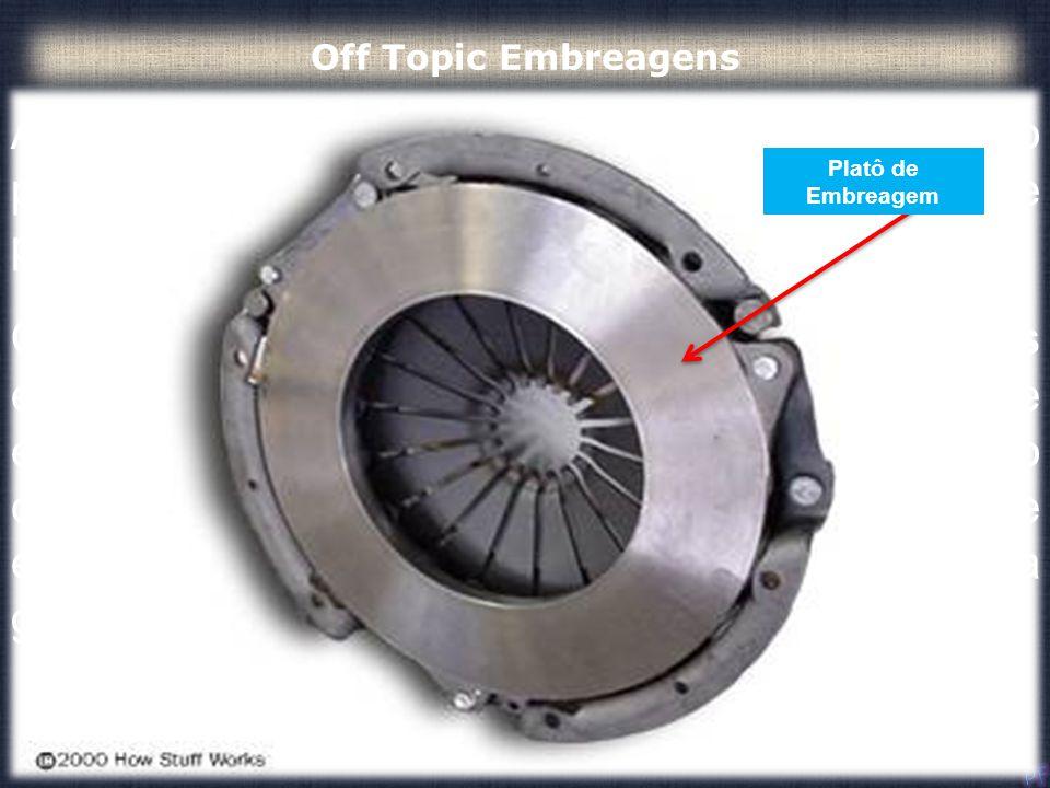 A embreagem funciona devido ao atrito entre o platô de embreagem, por meio da sua placa de pressão, e o volante do motor. Quando o seu pé está fora do