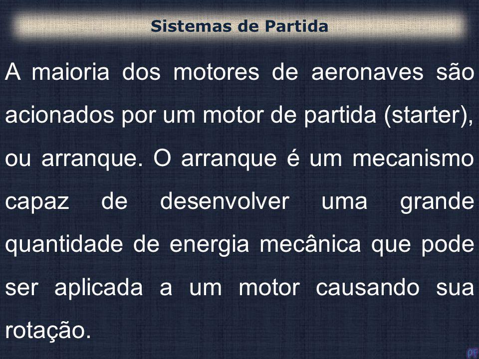 143 10-- Motores de partida de inércia, Existem três tipos gerais: a- (1) Mecânico de inércia; (2) Elétrico de inércia; (3) Engrazamento direto elétrico.