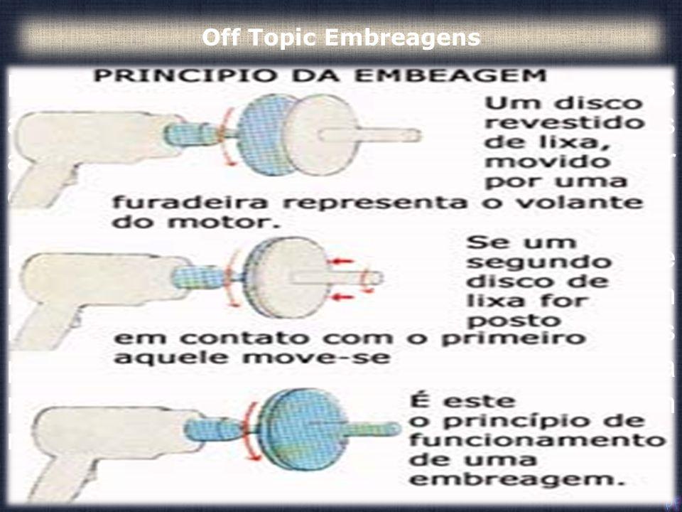 Embreagens são úteis em dispositivos com duas árvores rotativas. Nestes dispositivos, uma das árvores é normalmente acionada por um motor ou polia e a