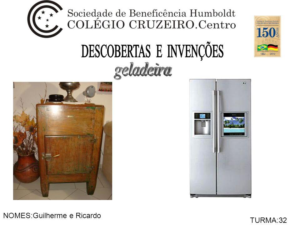 NOMES:Guilherme e Ricardo TURMA:32