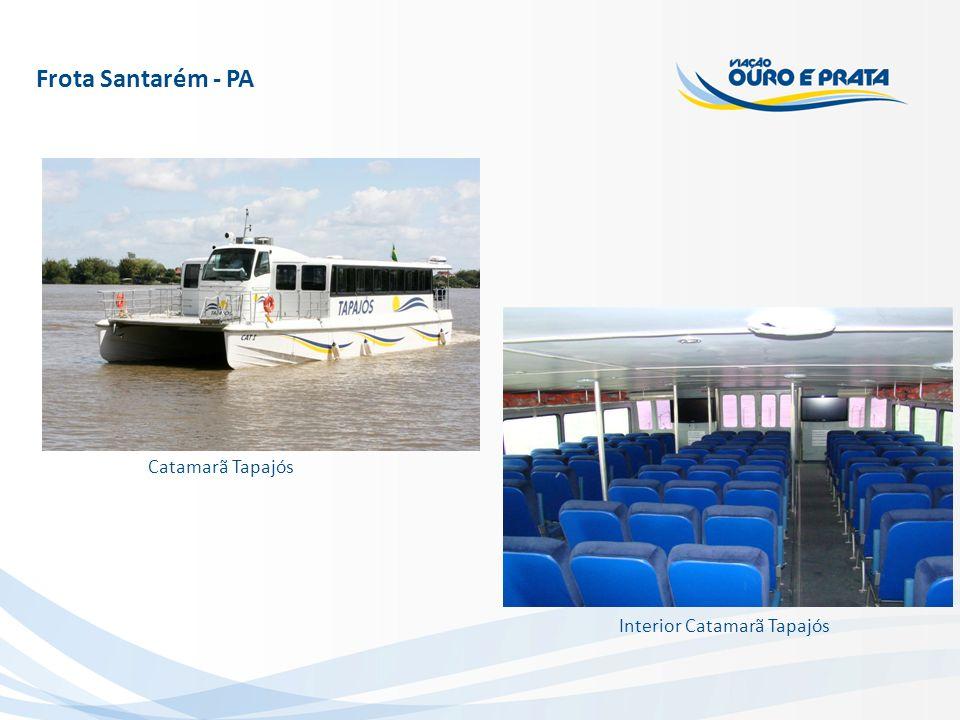 Catamarã Tapajós Interior Catamarã Tapajós Frota Santarém - PA