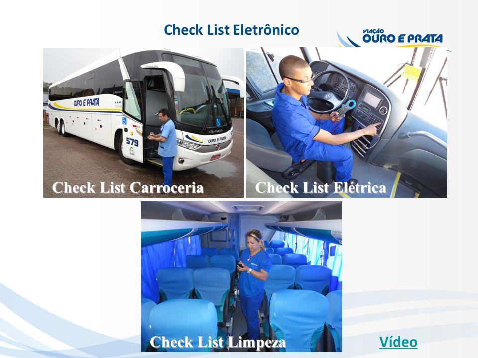Check List Eletrônico Check List Carroceria Check List Limpeza Check List Elétrica Vídeo