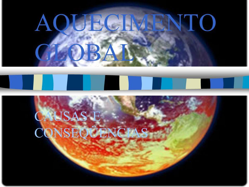 AQUECIMENTO GLOBAL CAUSAS E CONSEQÜENCIAS