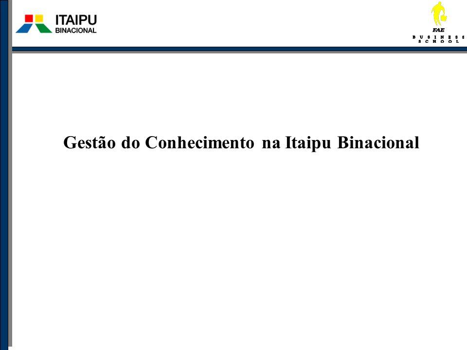 Gestão do Conhecimento na Itaipu Binacional