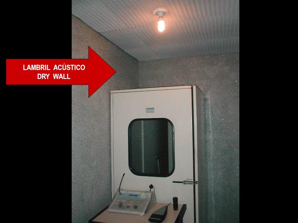 Amostra de Projetos de Acústica ISOLAMENTO E ABSORÇÃO ACÚSTICA: Sala de Audiologia da MBR Amostra de Projetos de Acústica ISOLAMENTO E ABSORÇÃO ACÚSTI