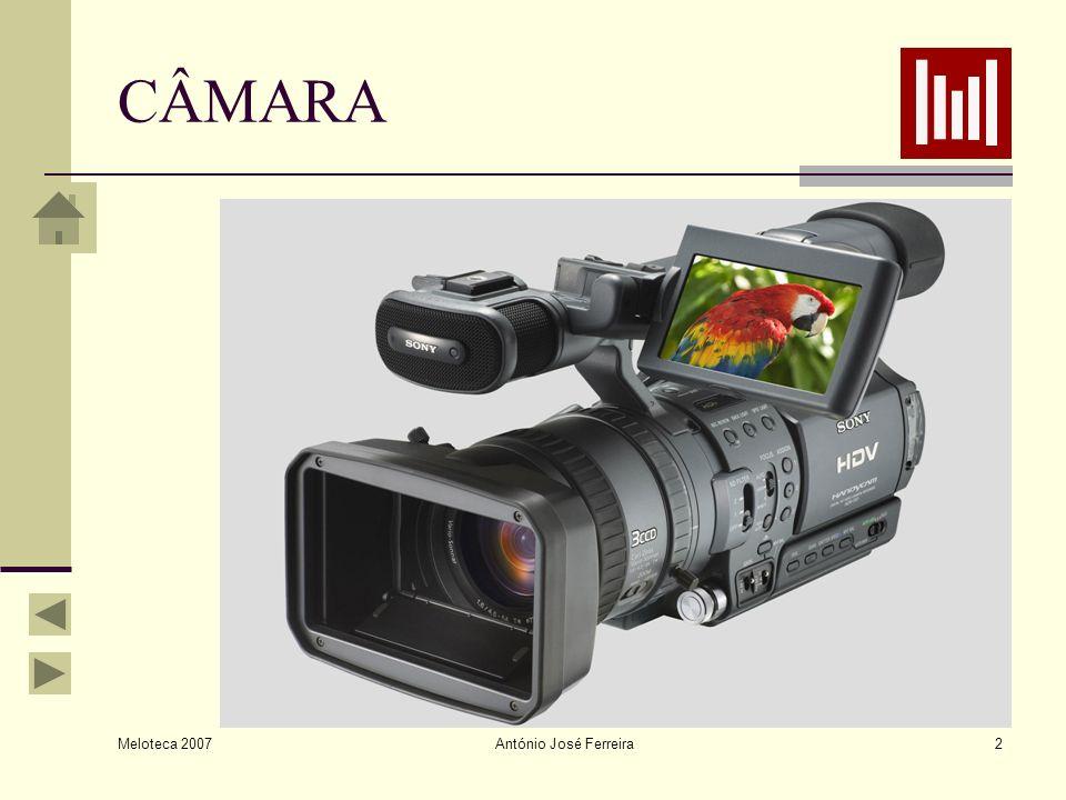 Meloteca 2007 António José Ferreira13 FOCAGEM Quando não é muito experiente, o operador de câmara deve optar pela focagem automática.