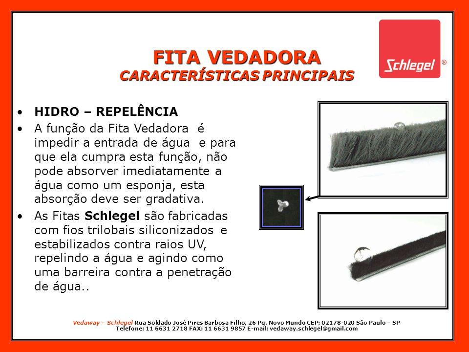Vedaway – Schlegel Rua Soldado José Pires Barbosa Filho, 26 Pq. Novo Mundo CEP: 02178-020 São Paulo – SP Telefone: 11 6631 2718 FAX: 11 6631 9857 E-ma