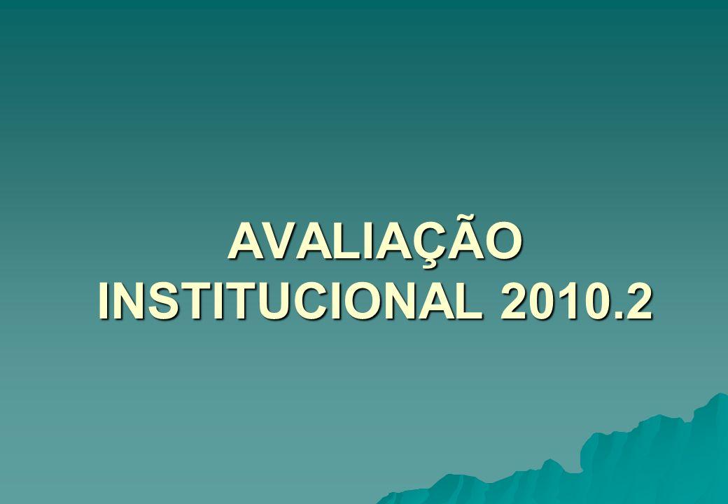 AVALIAÇÃO INSTITUCIONAL 2010.2